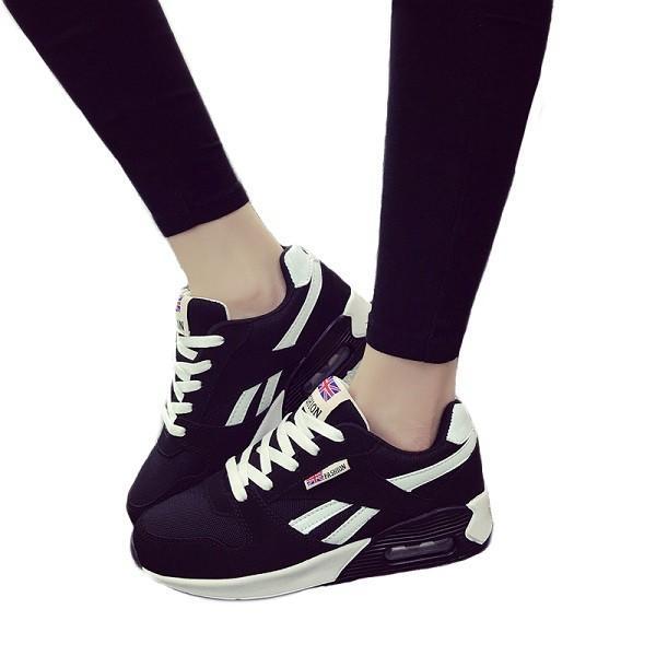 ウォーキングシューズ スポーツシューズ スニーカー ランニング エアソール 歩行姿勢調整 矯正靴 ダイエット メッシュ 合皮 2タイプ(ciq120) i-tonya 24