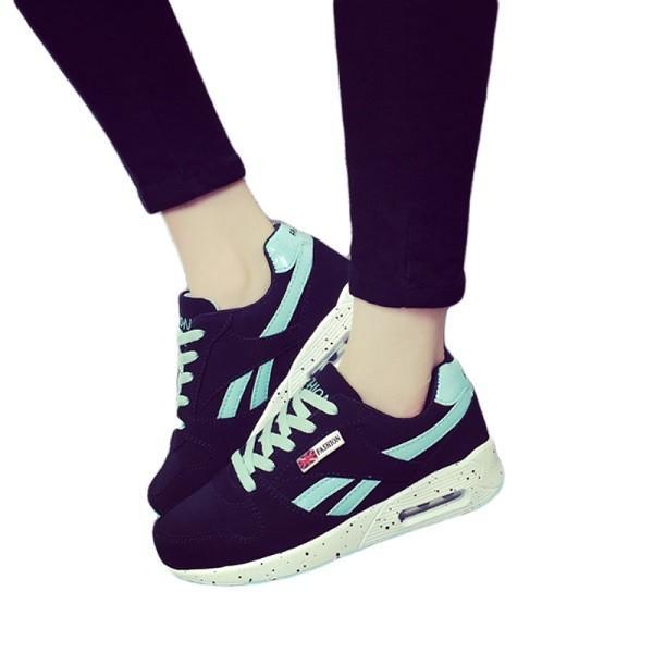 ウォーキングシューズ スポーツシューズ スニーカー ランニング エアソール 歩行姿勢調整 矯正靴 ダイエット メッシュ 合皮 2タイプ(ciq120) i-tonya 25