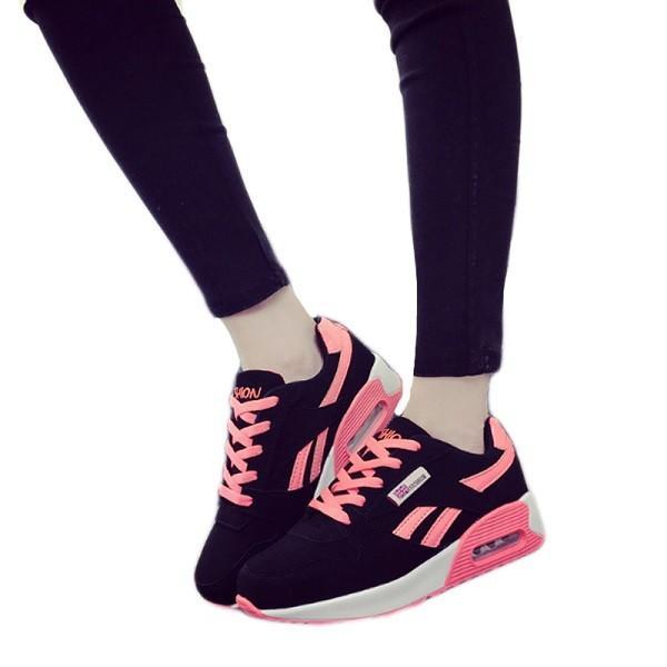 ウォーキングシューズ スポーツシューズ スニーカー ランニング エアソール 歩行姿勢調整 矯正靴 ダイエット メッシュ 合皮 2タイプ(ciq120) i-tonya 26