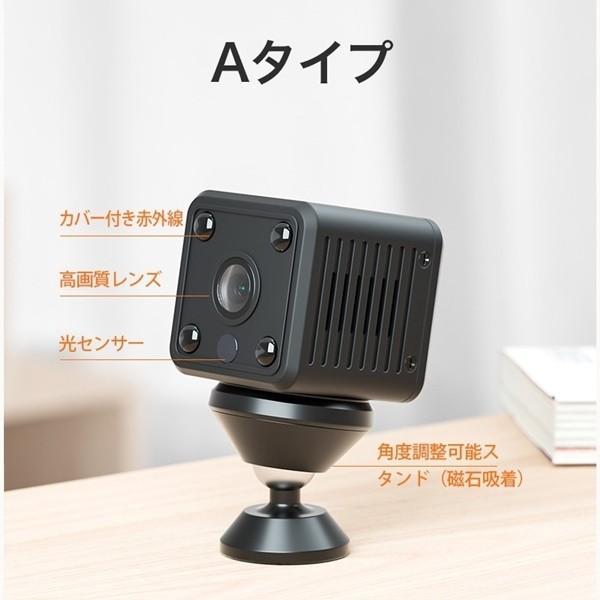 監視カメラ 極小型監視カメラ 防犯対策 暗視 赤外線暗視 選べる2タイプ  i-tonya 18