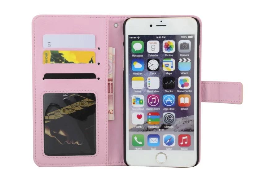 iPhone5/5s/6/6s/6plus/6sPlus/GalaxyS6のボッテガ風編み込みレザーケースのカードホルダー