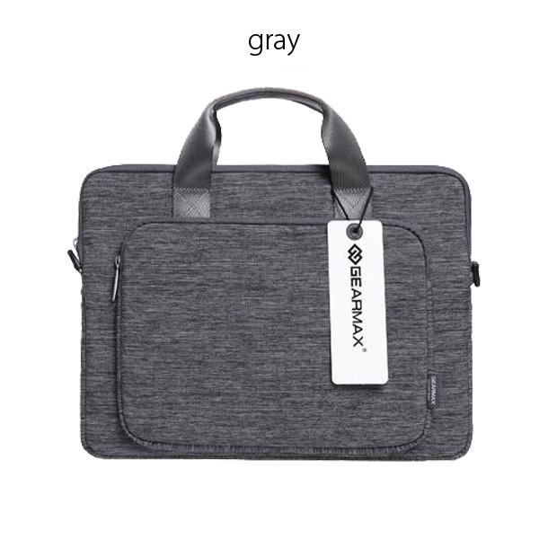 MacBookAir/Pro/Retinaの11/13/15インチ対応の2wayビジネスバッグのブラック