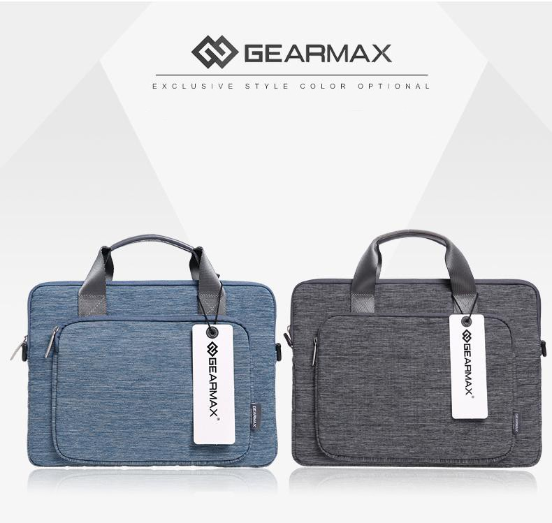 MacBookAir/Pro/Retinaの11/13/15インチ対応の2wayビジネスバッグの黒と青
