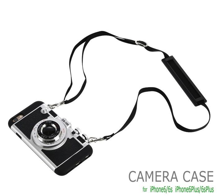 立体カメラ型iPhone6/6s/6plusスマホケースのトップ画像