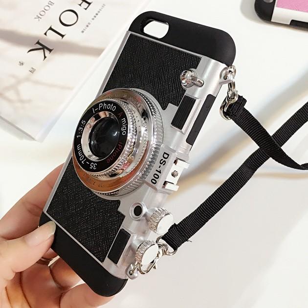 立体カメラ型iPhone6/6s/6plusスマホケースの使用イメージ2