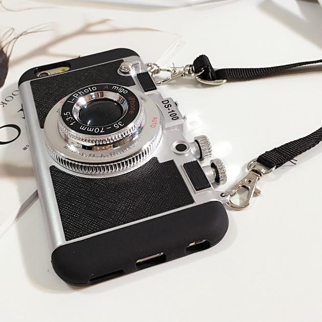 立体カメラ型iPhone6/6s/6plusスマホケースの使用イメージ3