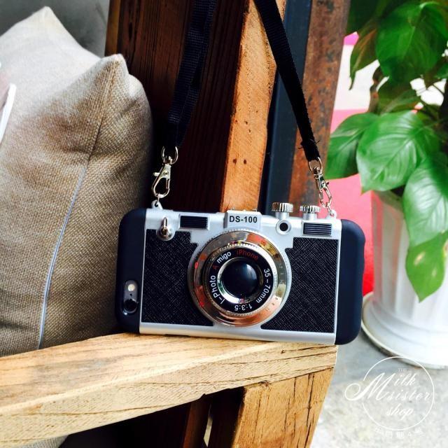 立体カメラ型iPhone6/6s/6plusスマホケースの使用イメージ