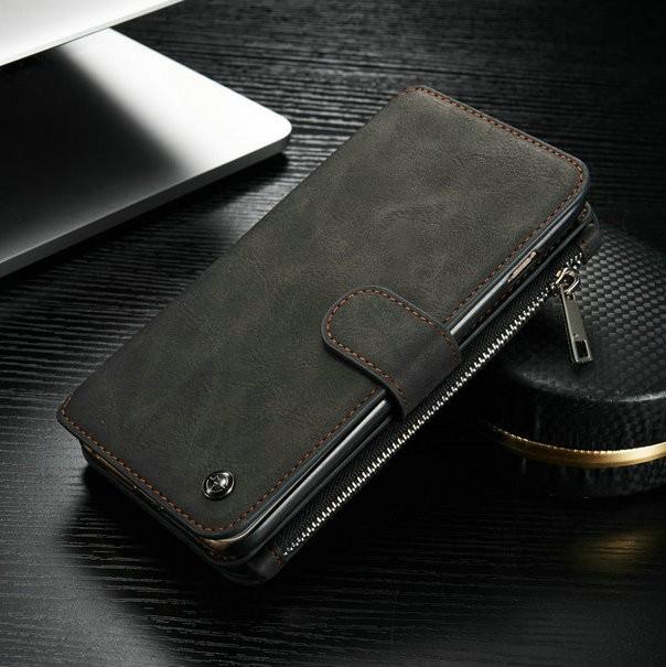 iPhone6/6s/6Plus/6sPlus/Galaxys6edgePlus/note5のカード収納14枚の多機能ウォレットケースのブラック3