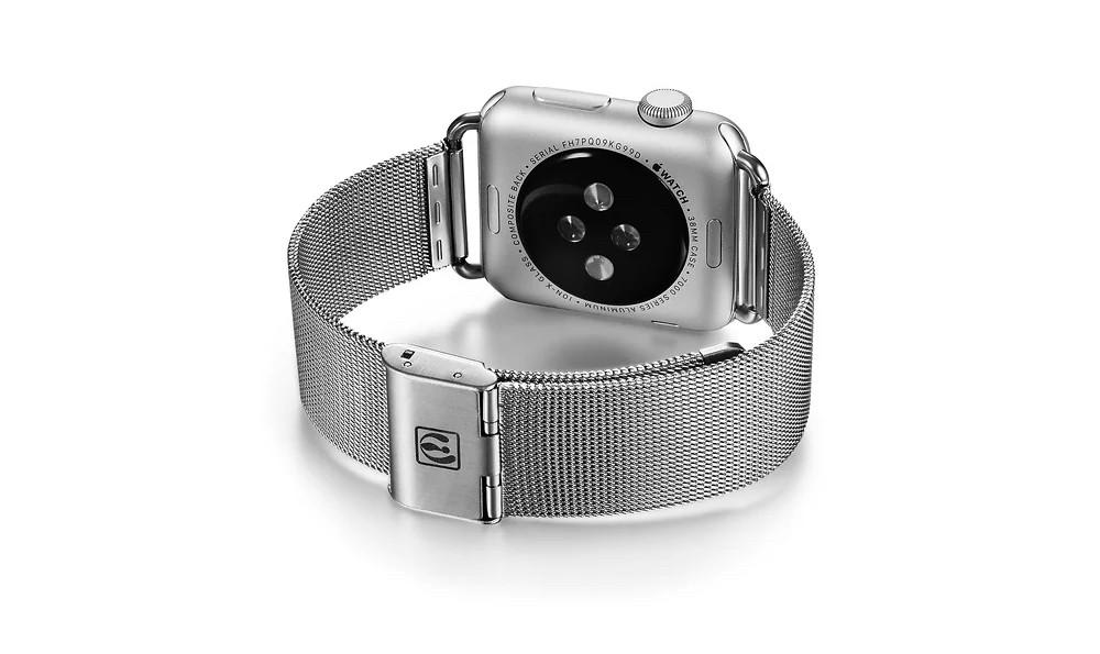 apple watch 高級ステンレスベルトの裏側デザイン2