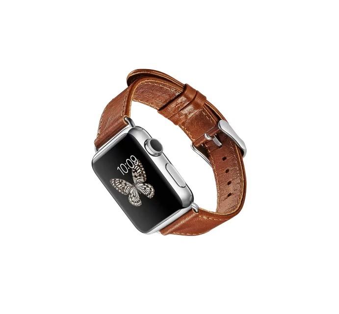 apple watch 高級本革ベルトの表側デザイン