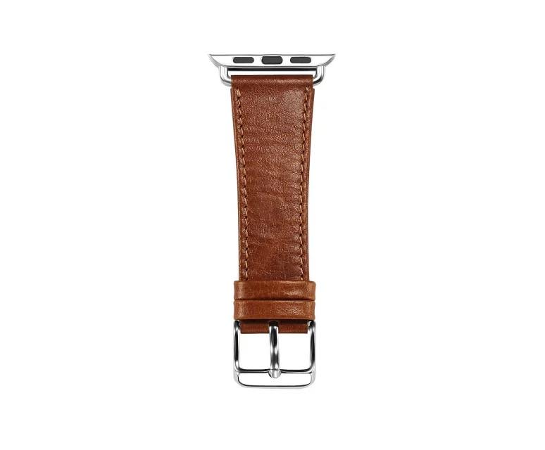 apple watch 高級本革ベルトの留め具側ベルト