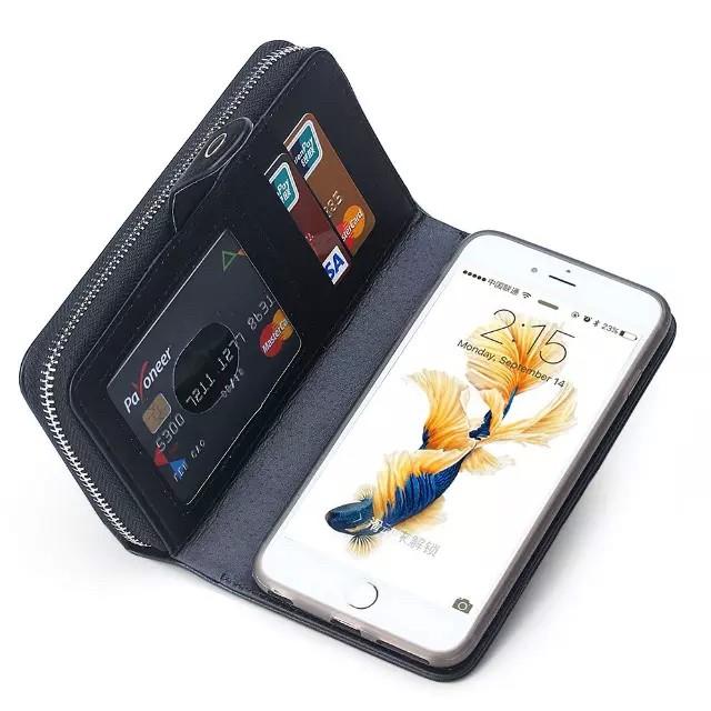 iPhone6/6s/6Plus/6sPlus/GALAXY対応ボッテガ風財布型ケースの使用イメージ2