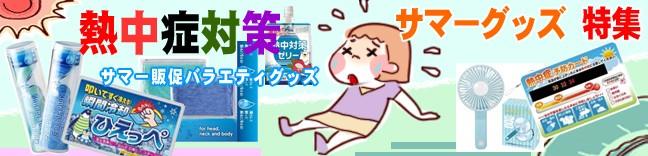 猛暑対策 熱中症対策 特集
