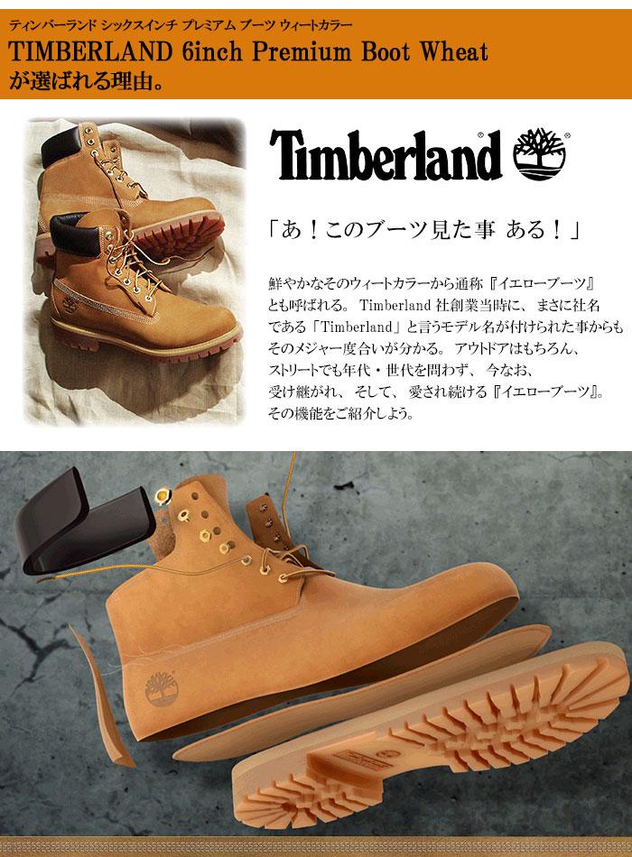 Timberlandティンバーランドのブーツ 6インチプレミアム03