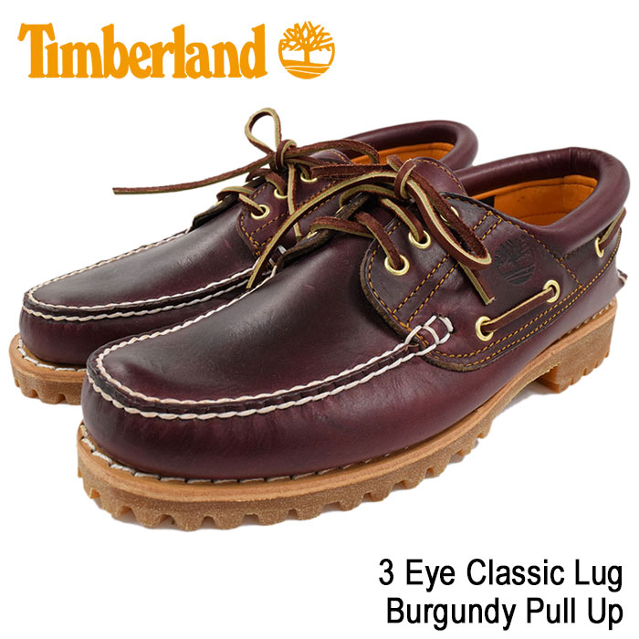 Timberlandティンバーランドのデッキシューズ 3 Eye01