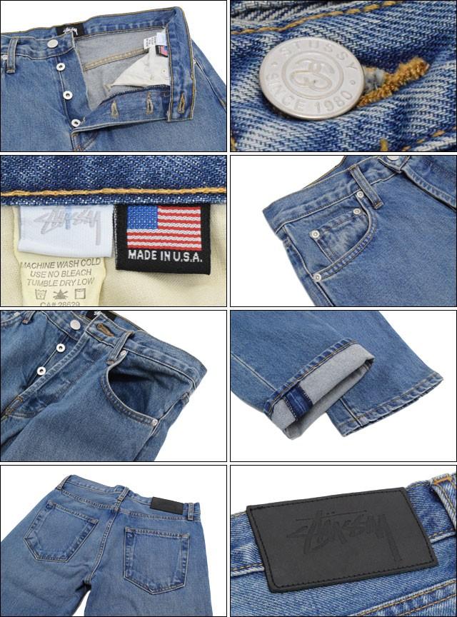 STUSSYステューシーのパンツ USA Light Wash Denim02