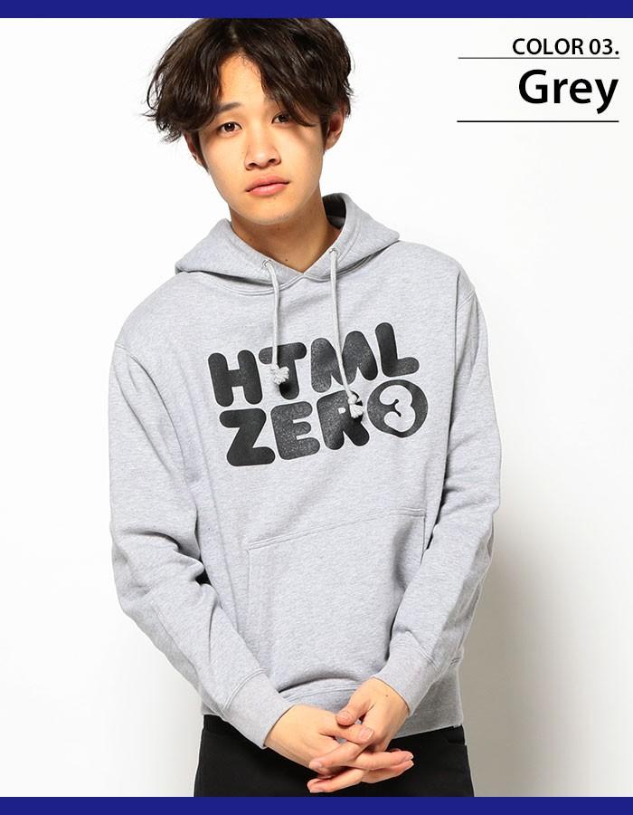 HTML ZERO3エイチティエムエル ゼロスリーのパーカー Bumper Logo Pullover05