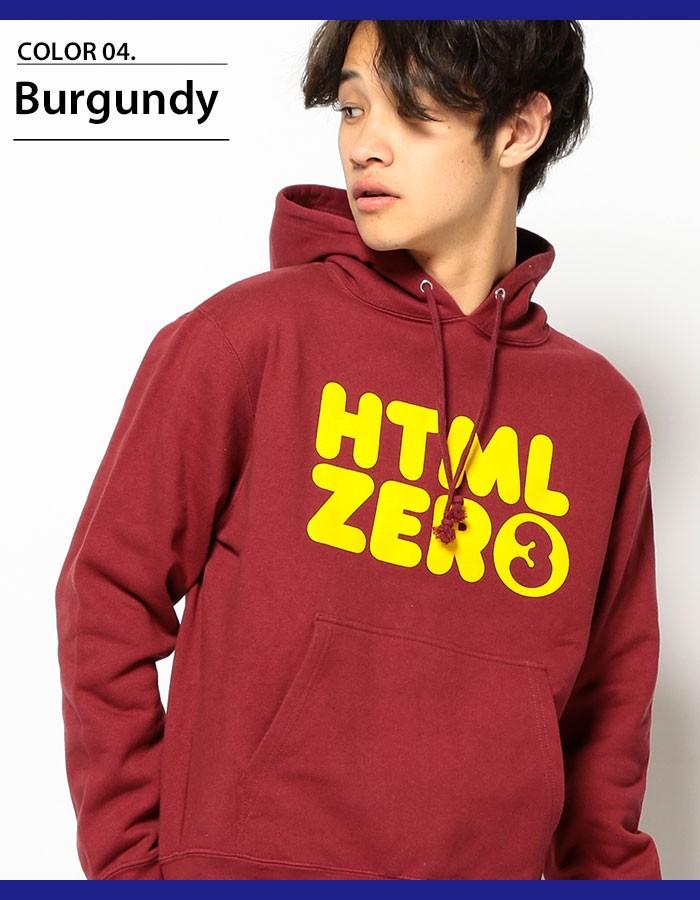 HTML ZERO3エイチティエムエル ゼロスリーのパーカー Bumper Logo Pullover06