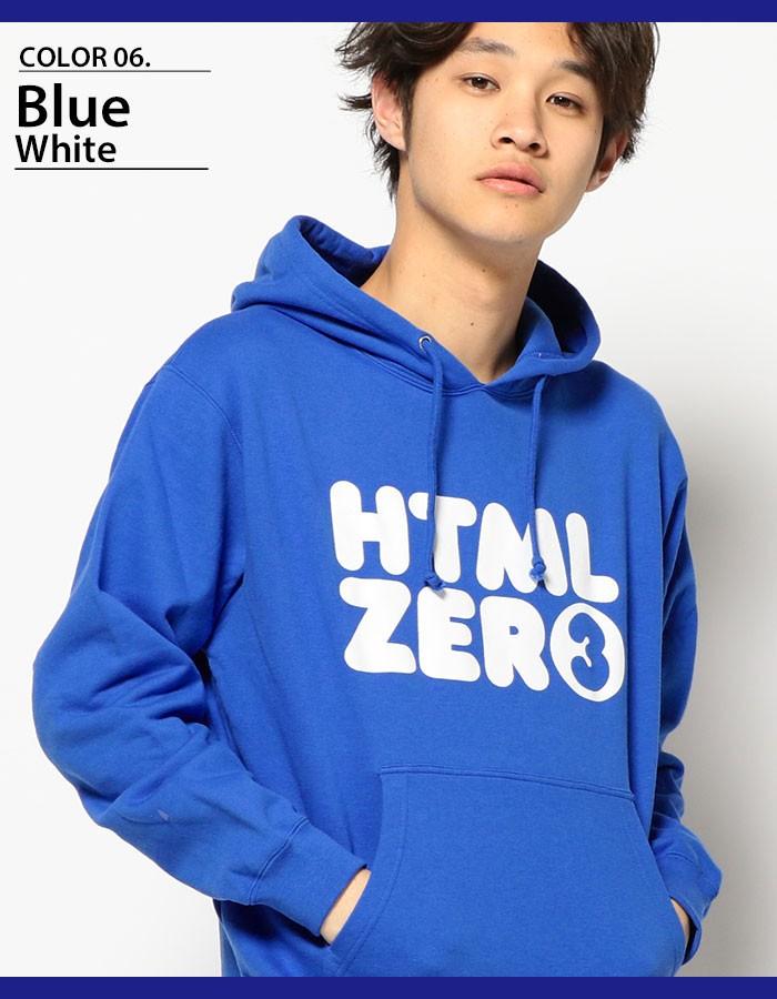 HTML ZERO3エイチティエムエル ゼロスリーのパーカー Bumper Logo Pullover08