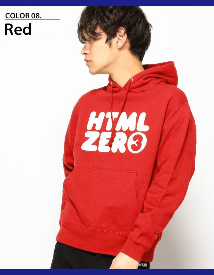 HTML ZERO3エイチティエムエル ゼロスリーのパーカー Bumper Logo Pullover10