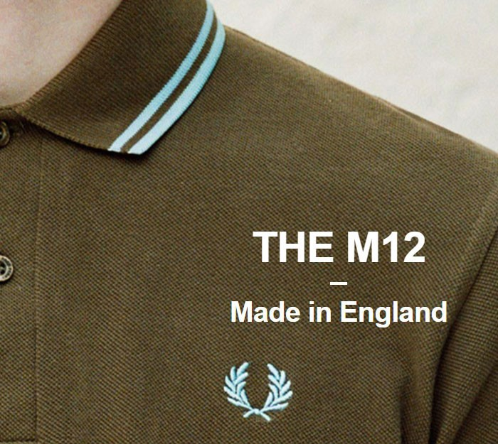 FRED PERRYフレッドペリーのポロシャツ M12N England12