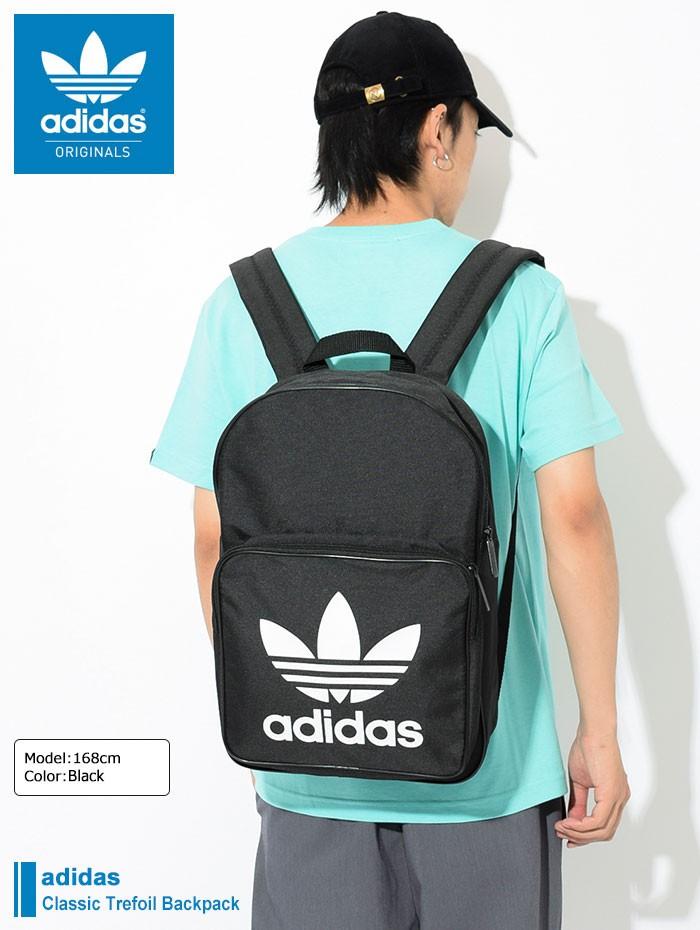 2460f8a595cd adidasアディダスのリュック Classic Trefoil Backpack01