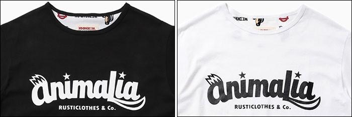 ANIMALIAアニマリアのTシャツ Kskun Logo03