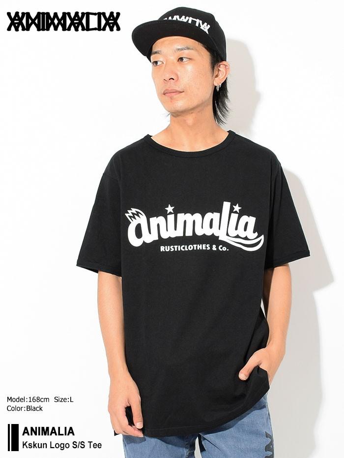 ANIMALIAアニマリアのTシャツ Kskun Logo01