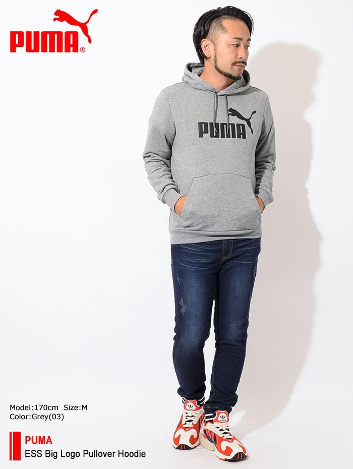 PUMAプーマのパーカー ESS Big Logo Pullover Hoodie01