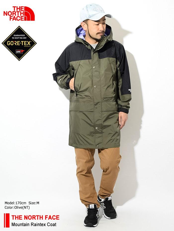 THE NORTH FACEザ ノースフェイスのジャケット Mountain Raintex Coat01