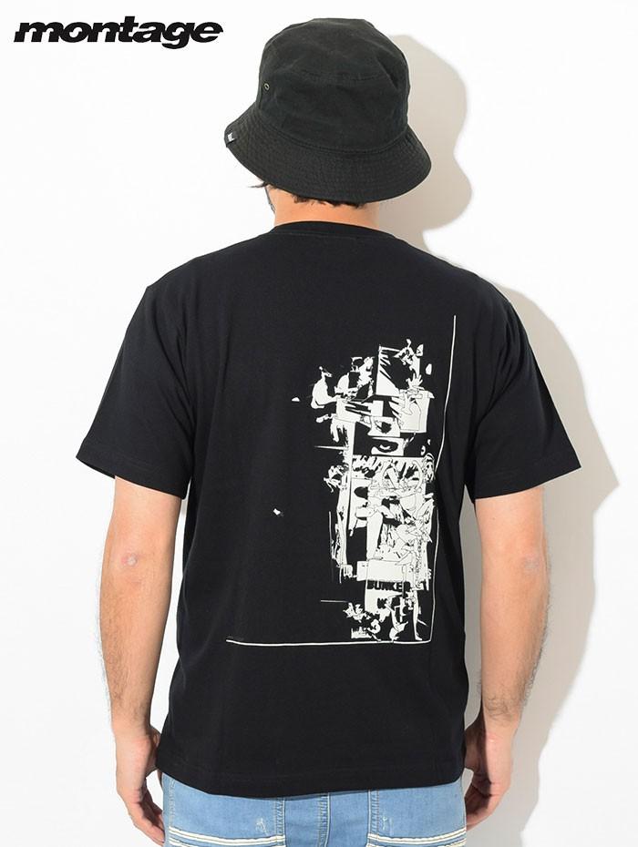 montageモンタージュのTシャツ Trasher Accumulation02