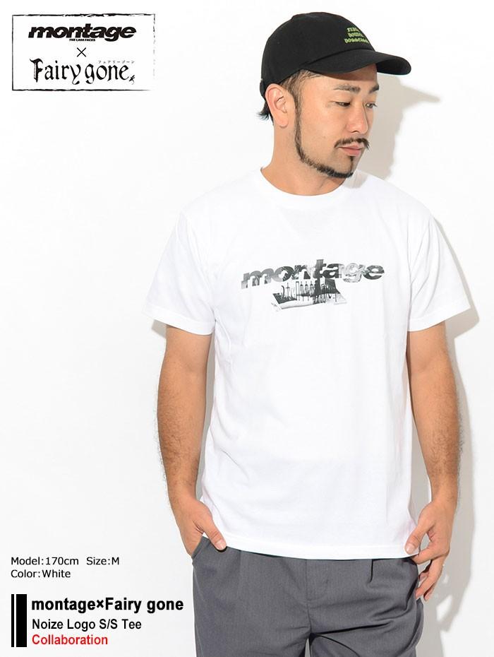 montageモンタージュのTシャツ Fairy gone01