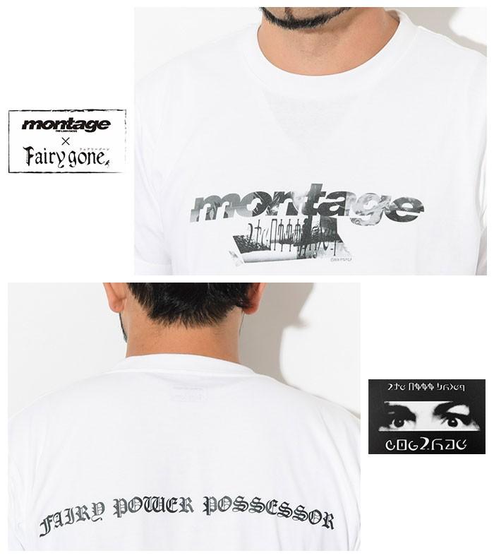 montageモンタージュのTシャツ Fairy gone03