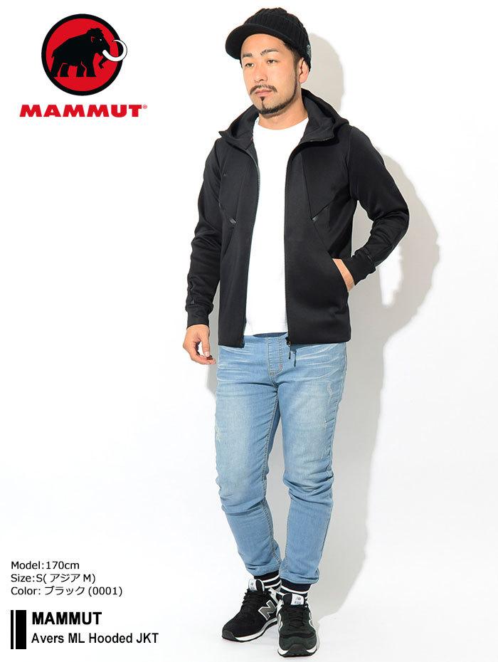 MAMMUTマムートのジャケット Avers ML Hooded01