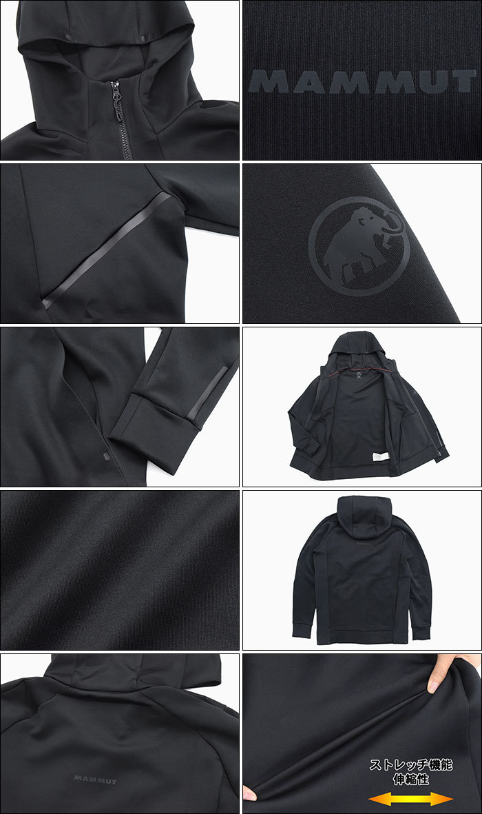 MAMMUTマムートのジャケット Avers ML Hooded05