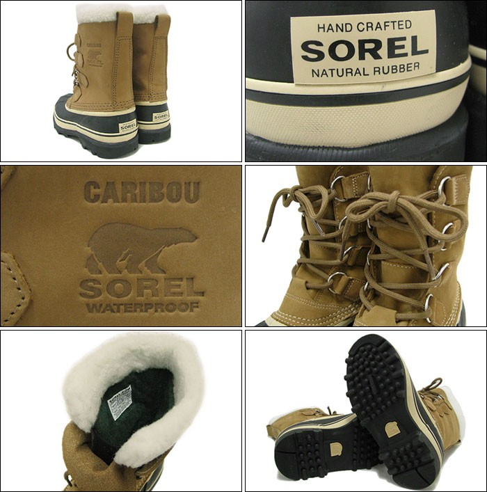 SORELソレルのブーツ カリブー02