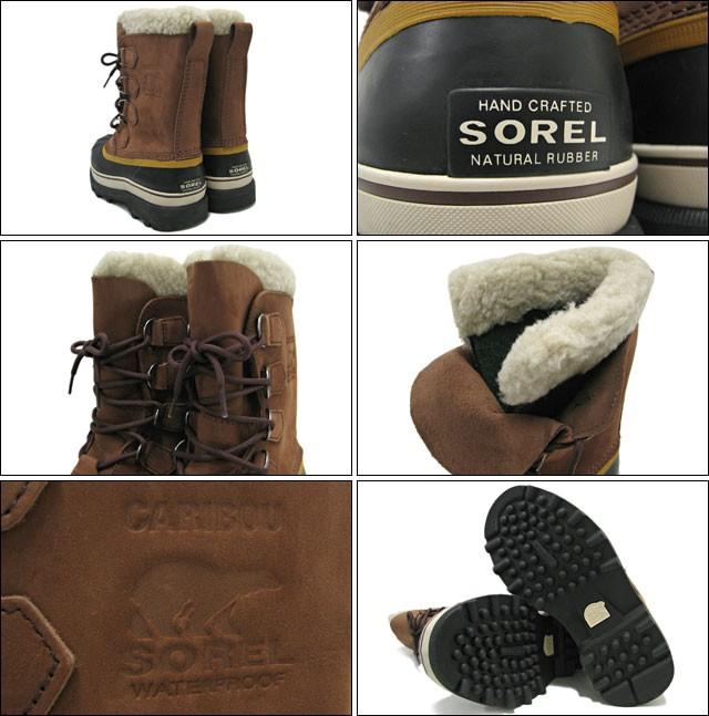 SORELソレルのブーツ CARIBOU02