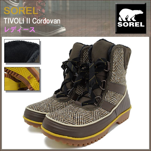 SORELソレルのブーツ TIVOLI01