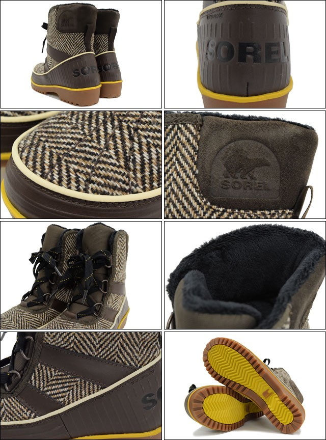 SORELソレルのブーツ TIVOLI02