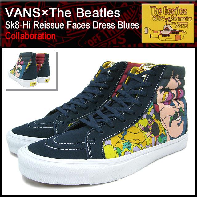 バンズ VANS×The Beatles スニーカー スケー