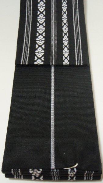 着物,和装小物,男物,角帯,帯,綿,日本製,国産,黒