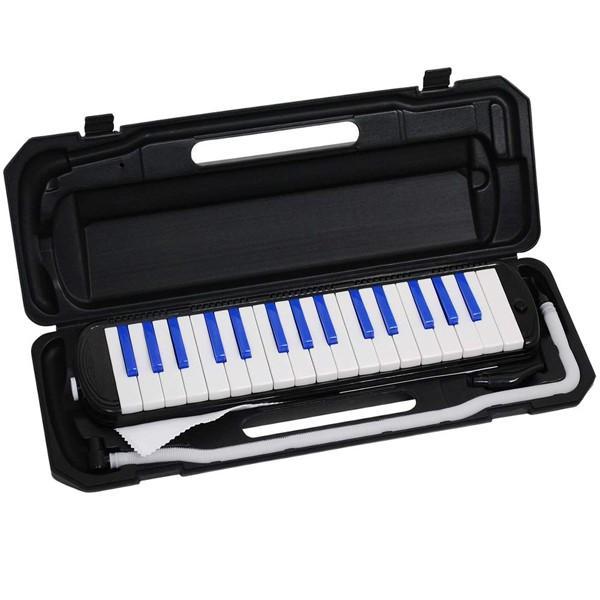 鍵盤ハーモニカ 32鍵盤 ハーモニカ カラフル 子供 入学祝 MELODY PIANO キーボード P3001-32K ichibankanshop 20