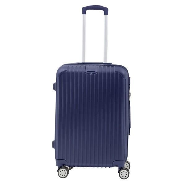 スーツケース キャリーバッグ Mサイズ  軽い 軽量 おしゃれ  容量 63L 3〜5泊 Sunruck TSAロック付 4輪 ファスナータイプ SR-BLT028|ichibankanshop|17