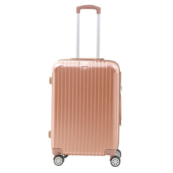 スーツケース キャリーバッグ Mサイズ  軽い 軽量 おしゃれ  容量 63L 3〜5泊 Sunruck TSAロック付 4輪 ファスナータイプ SR-BLT028|ichibankanshop|15