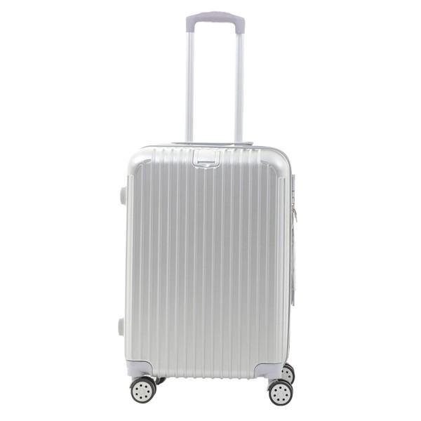 スーツケース キャリーバッグ Mサイズ  軽い 軽量 おしゃれ  容量 63L 3〜5泊 Sunruck TSAロック付 4輪 ファスナータイプ SR-BLT028|ichibankanshop|16