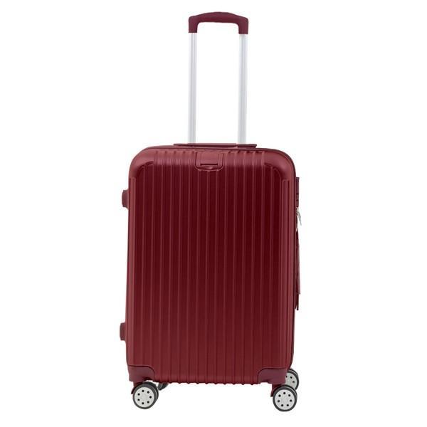 スーツケース キャリーバッグ Mサイズ  軽い 軽量 おしゃれ  容量 63L 3〜5泊 Sunruck TSAロック付 4輪 ファスナータイプ SR-BLT028|ichibankanshop|14