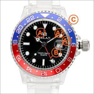 9fb7227cae RELAX腕時計 リラックスGMT :r-0304:腕時計&雑貨 イデアル - 通販 - Yahoo!ショッピング