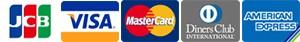 取扱い可能クレジットカード