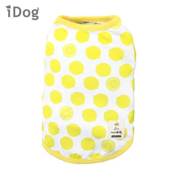 犬 服 セールiDog COOL Chill レモンタンク 接触冷感 メール便OK 夏 犬の洋服 犬服 ペット服 プードル チワワ ダックス|idog|21