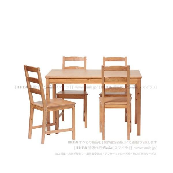 JOKKMOKKテーブル&チェア4脚, アンティークステイン